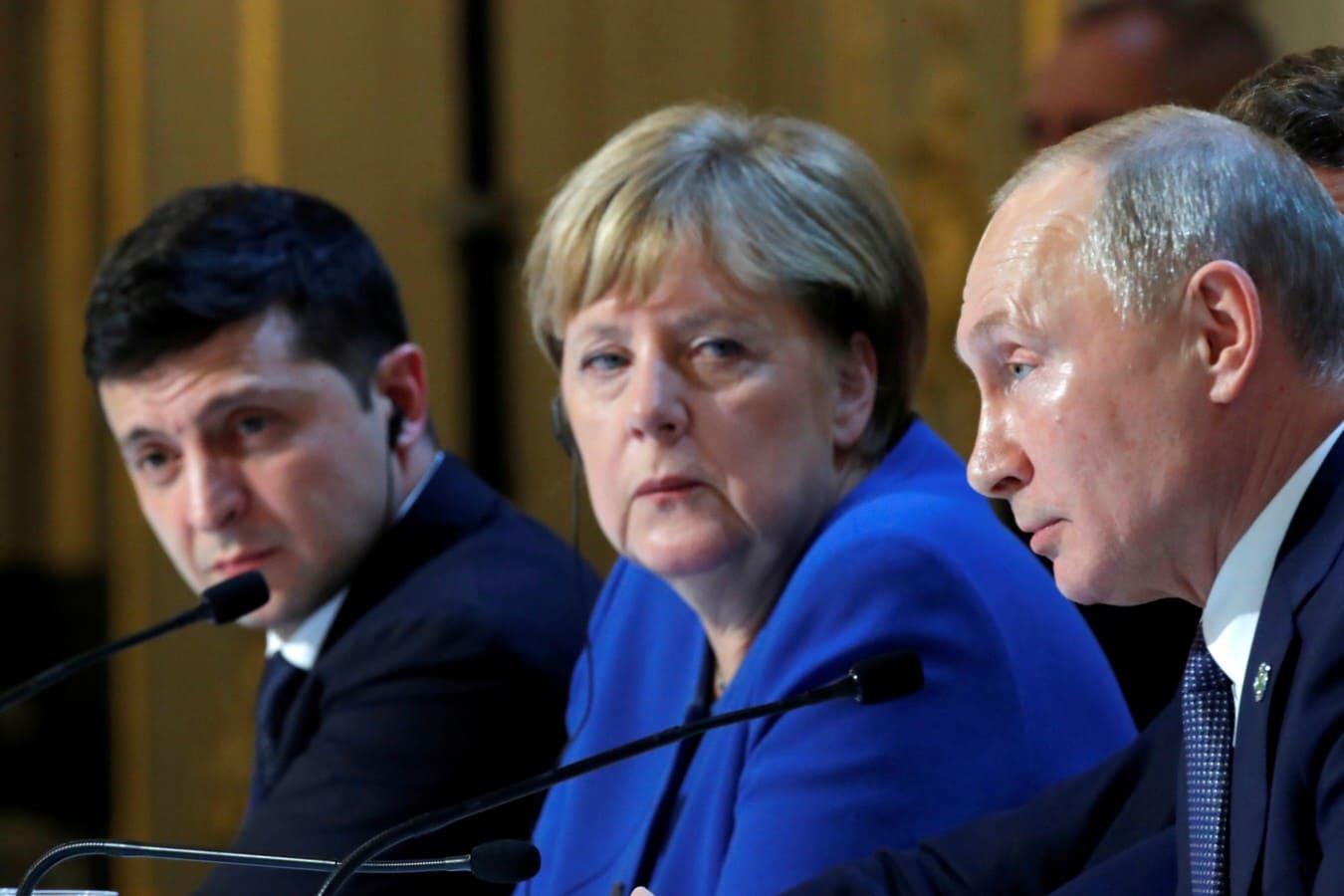 Взгляд немцев на Главу Кремля Путина и саммит 4.